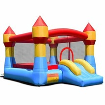 Durable Inflatable Bounce House Castle Jumper Without Blower - $239.99