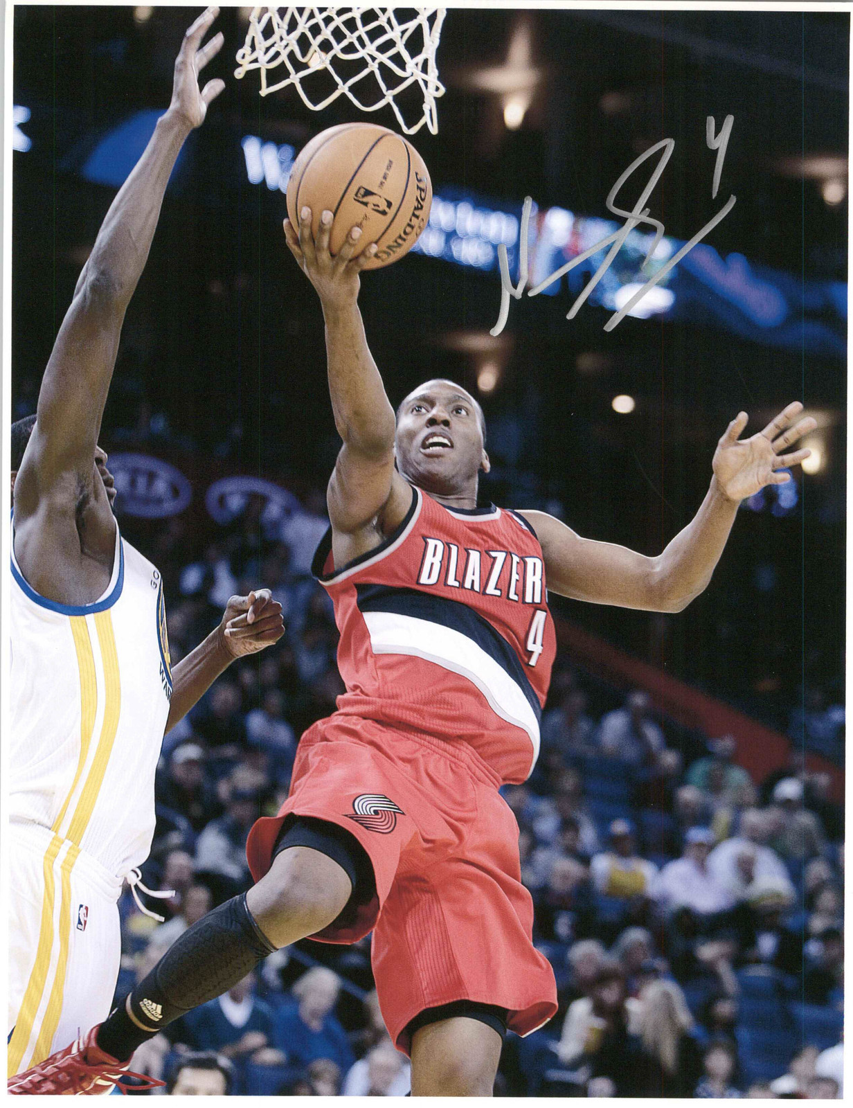 Primary image for Nolan Smith Signed Autographed Glossy 8x10 Photo - Portland Trailblazers