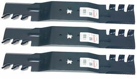 3 Heavy Duty Mulching Blades For MTD 742-0677, 942-0677, 742-0677A, 942-... - $36.58
