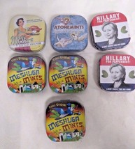 The Unemployed Philosophers Guild Lot Of 7 Tins Off Mints Different Kinds - $24.74