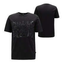 Hugo Boss X Jeremyville Tiburt Men's Regular Fit Cotton Graphic T-Shirt 50401901