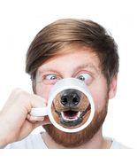 Dog Nose Designed Funny Mugs Ceramic Coffee Milk Tea Cup Drinkware Party... - $24.95