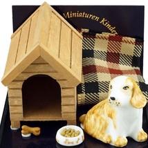 5-pc Doghouse Set 1.625/7 Reutter 5-pc DOLLHOUSE Miniature - $26.27