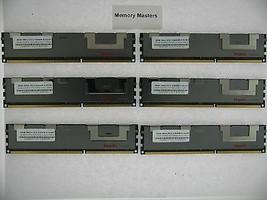 48GB (6X8GB) MEMORY FOR HP PROLIANT DL380 G7 DL980 G7 ML330 G6