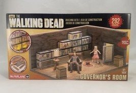 New McFarlane The Walking Dead Governor's Room AMC Building Toy Set - $9.89