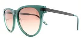New Bottega Veneta Bv 279/S CJN5M Authentic Sunglasses Dark Green Oval - $94.80