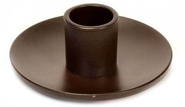 """Simplicity Taper Candle Holder 3"""" Low Profile Solid Metal Wide Base Set ... - $22.44"""
