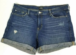 Gap Sz 12 31 Sexy Boyfriend Jean Shorts Distress Cuff Stretch - $30.00