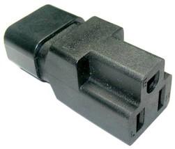 Conntek 30130 IEC C14 to NEMA 5-15R Plug Adapter 10Amp - $12.89