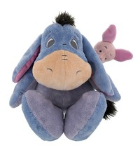 """disney parks floppy eeyore & piglet 15"""" plush toy new with tags - $33.47"""