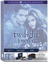 Twilight Forever: The Complete Saga DVD Set - $39.99