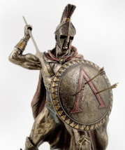 Leonidas with Spear & Shield Big and Heavy * Free Air Priority Shipping  - $129.00