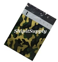1-1000 10x13 ( Camo ) Color Camouflage Poly Mailers Designer Bags Fast S... - $0.99+