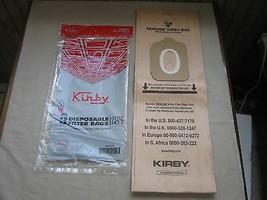 Genuine Kirby Style 2 Vacuum Cleaner Bags - Heritage 1, I, One Vac, OEM ... - $5.35+