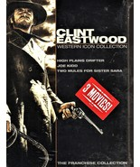 Clint Eastwood Western Icon Collection:3 movies High Plains Drifter/Joe ... - $10.90
