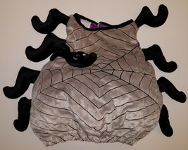 Spider + Web Costume (One Size Fits Up To 24 Months) Fun World Gray Black Purple - $14.80