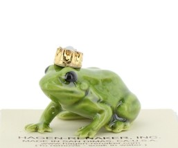 Birthstone Frog Prince October Simulated Opal Miniatures by Hagen-Renaker