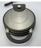 Calphalon HE400WM No Peek Non Stick Waffle Maker Stainless Steel Tested Euc - $19.79
