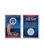 DONALD J. TRUMP 45th President WHITEHOUSE JFK Half Dollar Coin in PREMIU... - £8.49 GBP