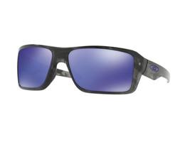 Oakley Double Edge sunglasses Black Tortoise Violet Iridium OO9380-0466 ... - $151.47
