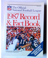 Official NFL 1987 Record Book - $24.00