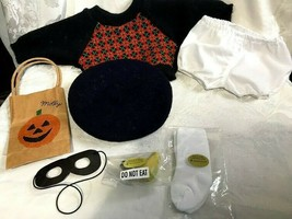 American Girl Doll Molly Sweater Beret Halloween Mask and Bag Pear Cookie - $29.99