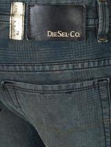 Diesel Men's Premium Designer Denim Regular Skinny Leg Jeans Thavar 0808Z image 6