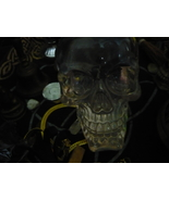 PARANORMAL HAUNTED CRYSTAL SKULL WITCH USED - $600.00