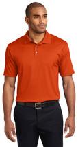 Port Authority K528 Jacquard Polo Shirt - Autumn Orange - $19.58+