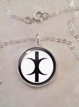 Sterling Silver 925 Pendant Necklace Hand of Eris Discordianism - $30.20+