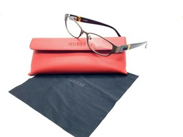GUESS GU2412 BRN Women's Eyeglasses Frames 52-16-135 Brown + CASE - $33.92