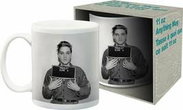 Aquarius Elvis Enlistment Photo 11 oz Boxed Ceramic Mug - £7.92 GBP