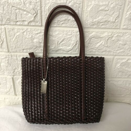 Primary image for Nine West Basket Weave Purse 9X7