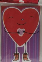 6 Valentine day cards Connections From Hallmark (LOC BK-20) - $9.49