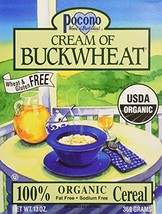Pocono Organic Cream of Buckwheat Cereal 3x13 oz.