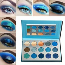 Eyeshadow Palette Makeup Afflano ProMatte Glitter Highly Pigmented Avoca... - $16.82