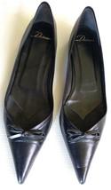DELMAN Flats Black Women Shoes Size 10M Pointy ... - $42.08