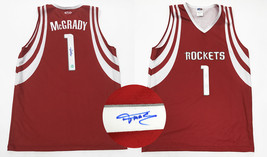 Tracy McGrady Houston Rockets Autographed Custom Basketball Jersey - $500.00