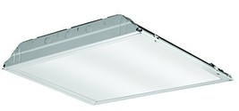 Lithonia Lighting 2GTL2 3300LM LP835 2-Foot White LED Lay-in Troffer wit... - $52.21
