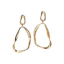 Avon Modern Sculpted Hoop Earrings - $14.85