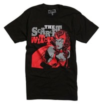 Marvel Avengers Movie The Scarlet Witch Classic T-Shirt New  - $14.99