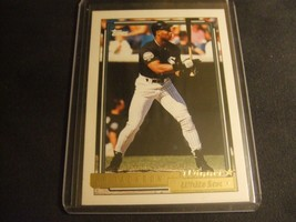 1992 Topps Gold Winners #290 Bo Jackson -Chicago White Sox- - $3.12