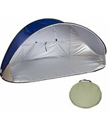7' Portable Pop-Up Wind & Sun Shelter Tent Canopy with Carry Bag - $38.12