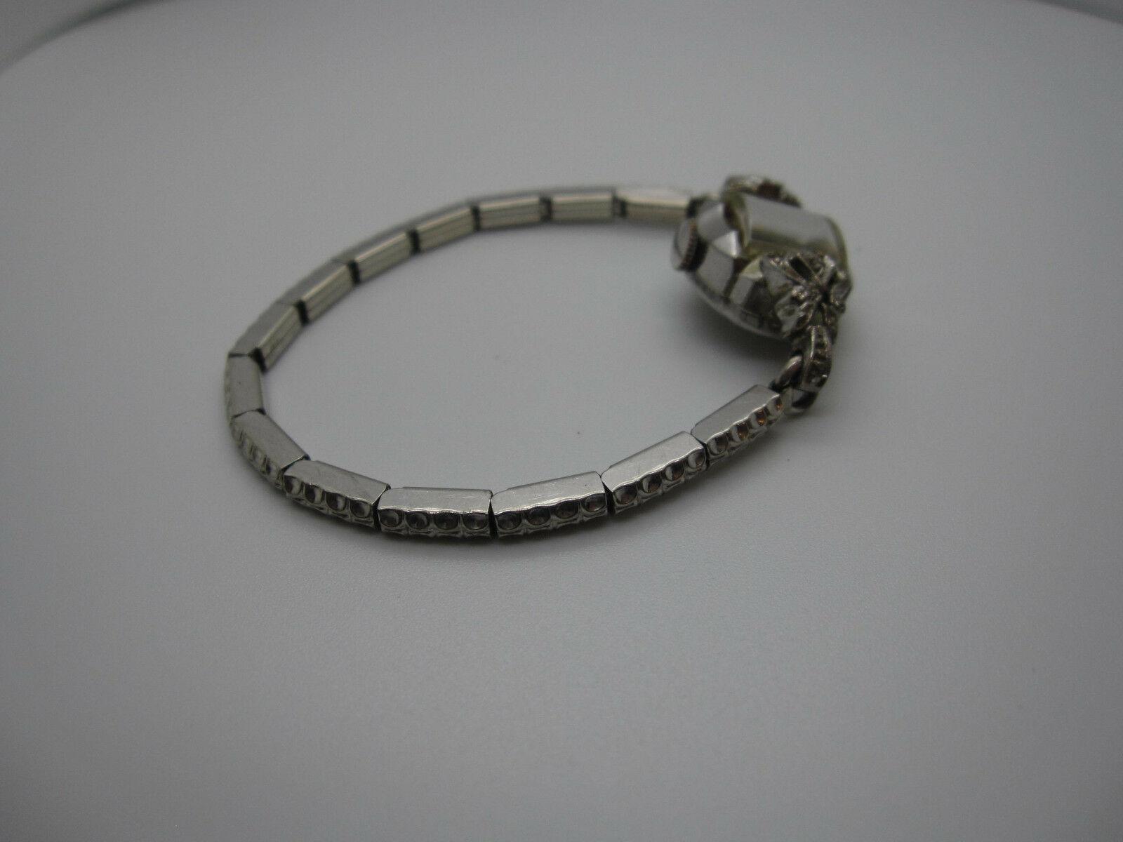 Vintage Women's Hallmark 25 Jewels 10k Rolled Gold Plated Hand Wind Watch image 8