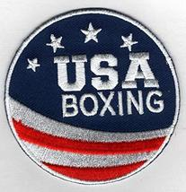 """Team USA Boxing Embroidered Iron-On Patch Size 2 3/4"""". USA Olympics - Gr... - $7.87"""