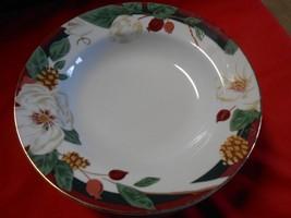 """Beautiful TIENSHAN China """"Magnolia"""" Set of 2 SOUP BOWLS - $7.59"""