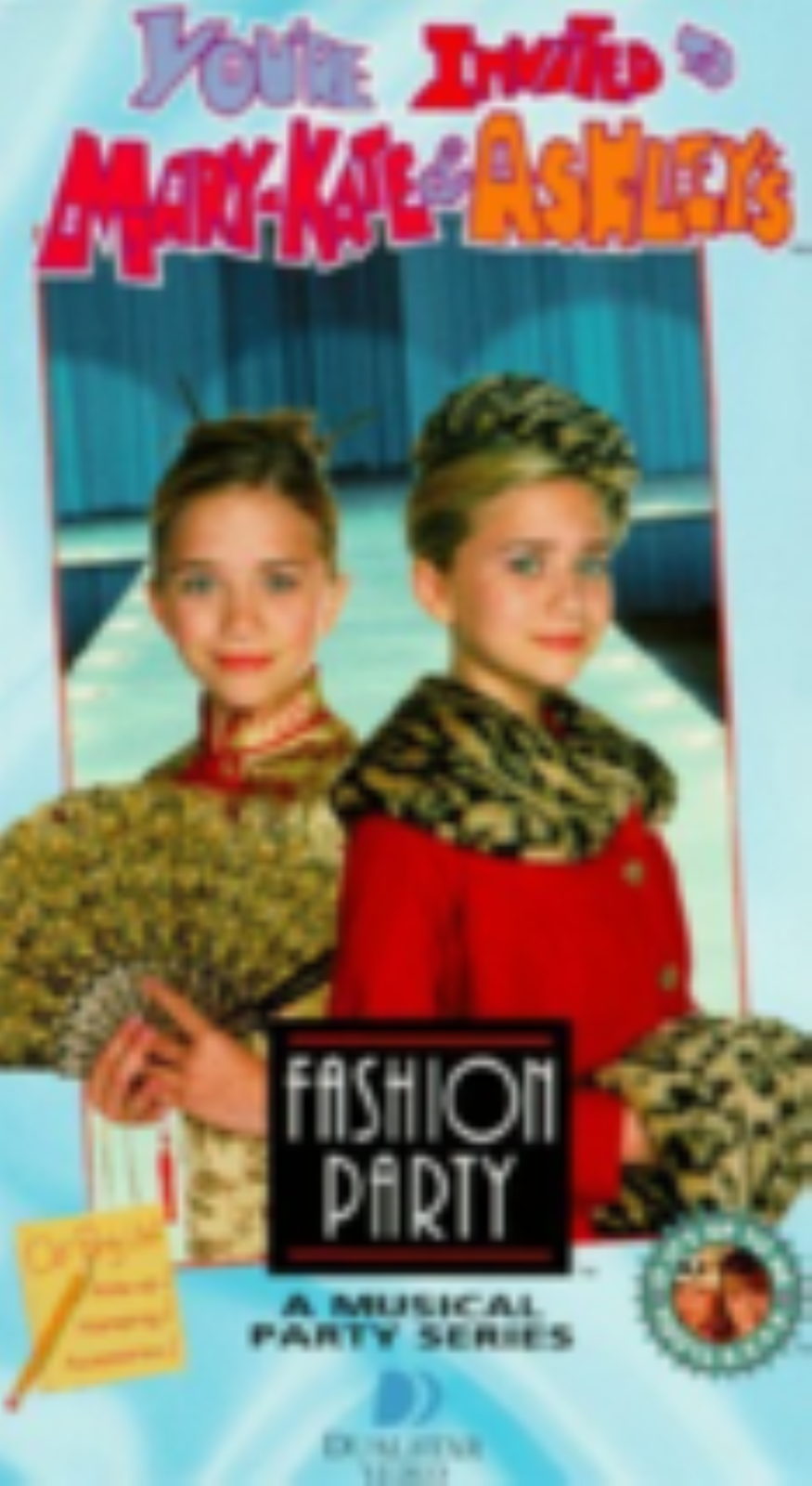 You're Invited to Mary-Kate & Ashley's Fashion Party Vhs
