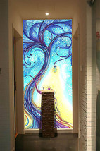 3D Color Magic - Baum. 012 Fototapeten Wandbild Fototapete BildTapete Familie DE - $52.21+