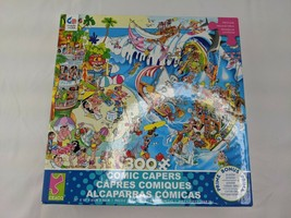 Ceaco Comic Capers The Wave 300 Pc Jigsaw Puzzle 2018 - $13.45