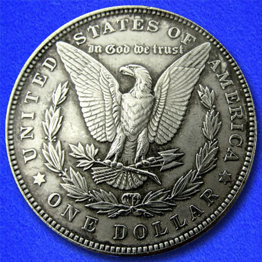 "NASA Space Satellite ""Hobo Nickel"" on Morgan Dollar Coin **"